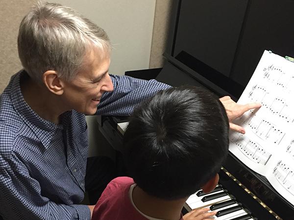 小さなお子様も安心の音楽教室です。