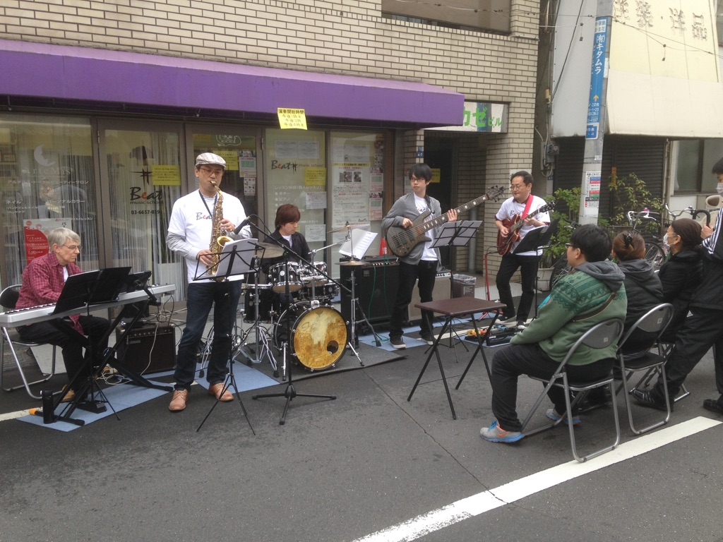 地蔵坂商店会 路上ライブ