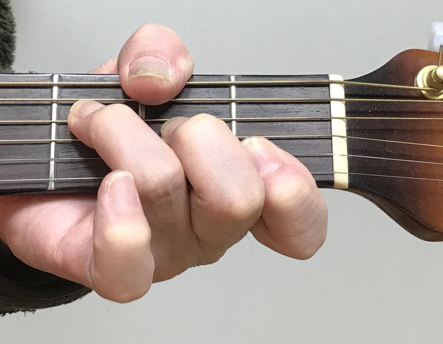 『初心者ギター特別講座』~ コード「F」の壁